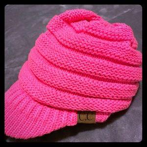 CC Beanie Ponytail Hat